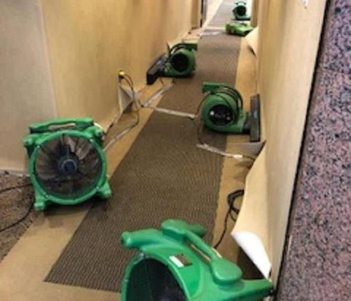 Commercial Commercial Water Damage - Equipment